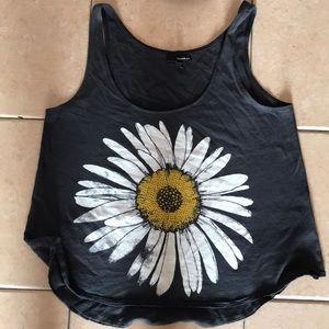 O'Neill flower crop top